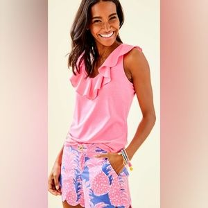 LILLY PULITZER ALESSA TANK TOP S